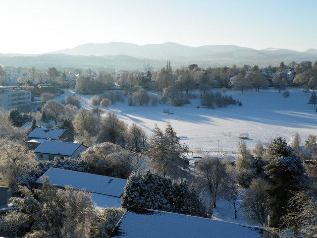 Snow at Ravelston