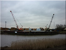 TA0623 : Old Ferry Wharf, Barrow Haven by Ian S