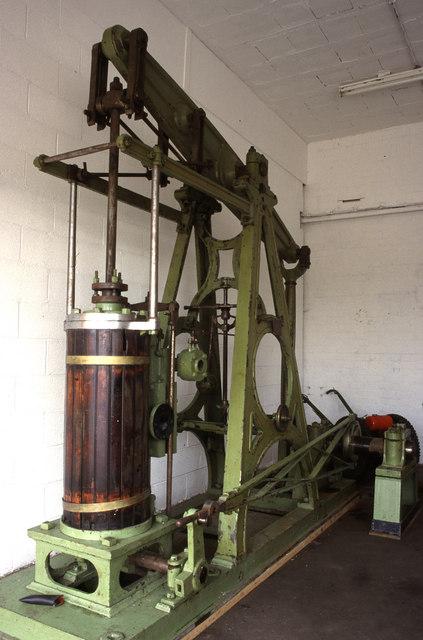 Great Central Railway Ruddington - beam engine