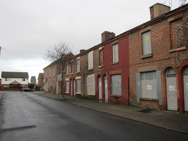 North-west end of Madryn Street
