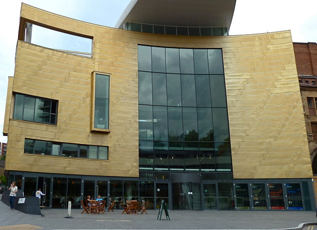 Colston concert hall - new entrance and foyer - Bristol