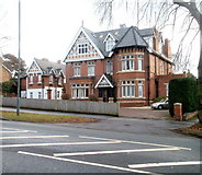 SO5140 : Flats, 20 Aylestone Hill, Hereford by Jaggery