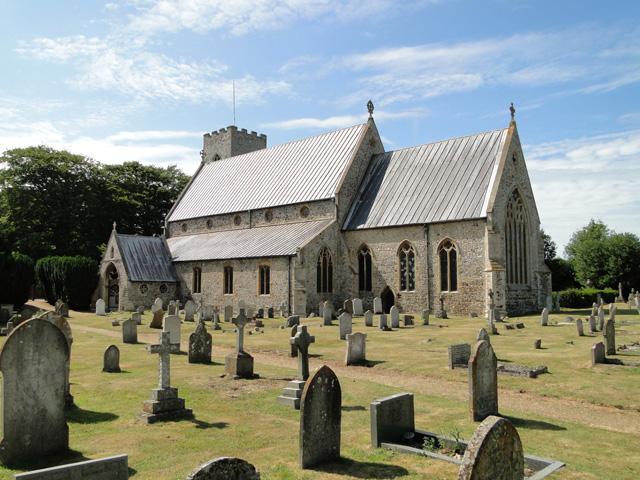 Old Hunstanton St Mary's church