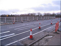 SU6252 : New railings on Brunel Road bridge by Given Up