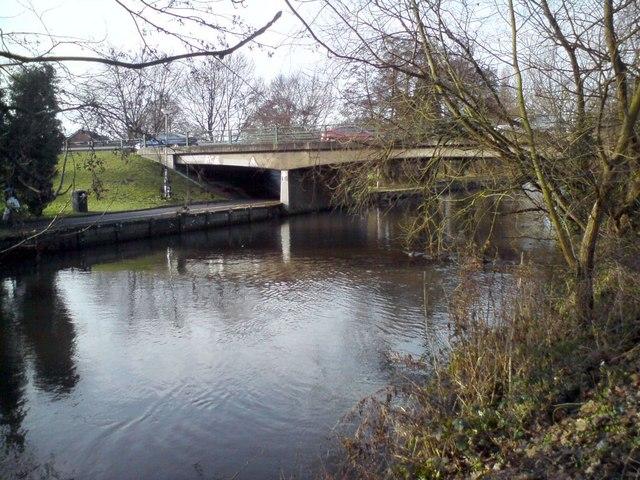 Road Bridge Across The Little Ouse