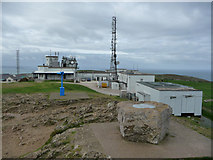 SH7683 : Toposcope and the Summit Complex, the Great Orme by Phil Champion