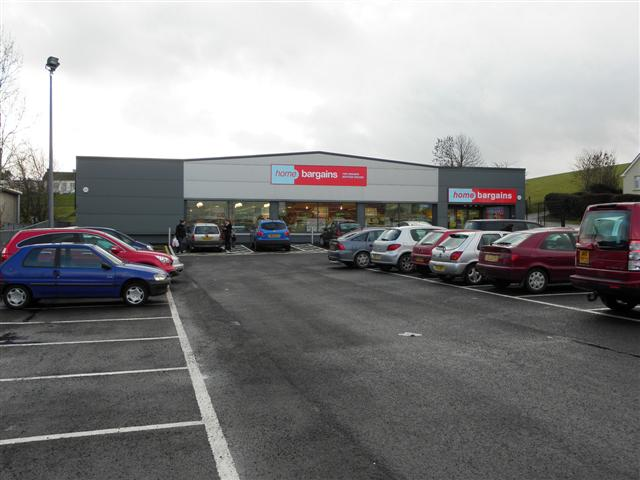 Home Bargains, Omagh by Kenneth  Allen