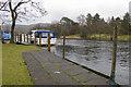 SD3786 : Private moorings, Newby Bridge by Tom Richardson
