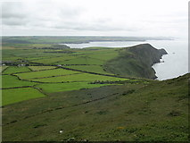 SM8938 : View of Pwll Deri from the summit of Garn Fawr by Martyn Harries