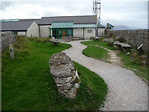 SH7683 : Summit Rock Garden - Great Orme Visitor Centre by Phil Champion