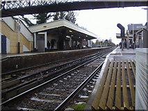 TQ1572 : Strawberry Hill station by David Howard