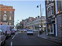 TQ2375 : Upper Richmond Road at junction with Putney Hill by David Howard