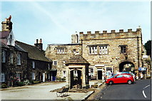 NY9650 : The Square, Blanchland, Northumberland by nick macneill