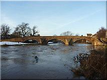 NT5173 : East Lothian Landscape : Nungate Bridge, Haddington by Richard West