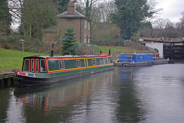Grand Union Canal, Hanwell