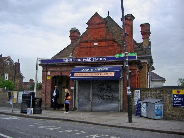 Wimbledon Park Tube station
