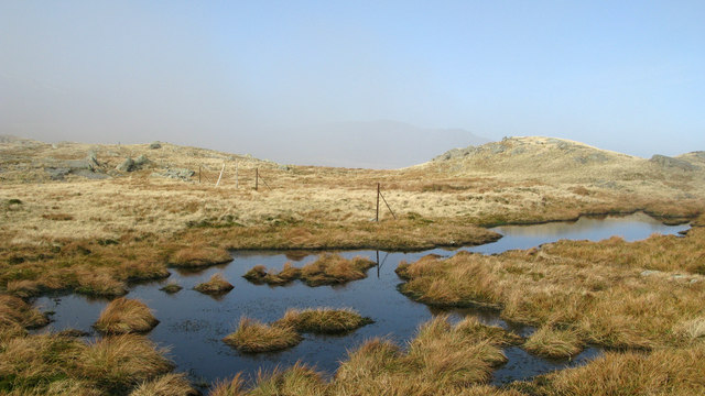 Pool west-north-west of Little Hart Crag