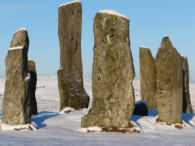 Calanais Stones main circle