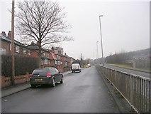 SE2334 : Park Spring Gardens - looking towards Swinnow Road by Betty Longbottom