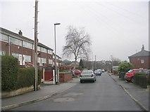 SE2334 : Sunnyside Road - looking towards Swinnow Road by Betty Longbottom