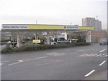 SE2334 : Morrisons Petrol Filling Station - Swinnow Road by Betty Longbottom