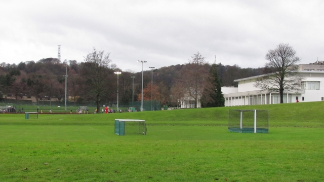 Grass pitch, The Mary Erskine School