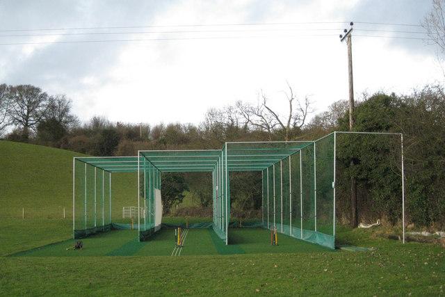 New nets, Exhall cricket ground: 2