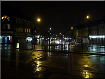 TQ1885 : Wembley: a nighttime town scene by Chris Downer