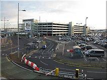 NT1473 : Edinburgh Airport - multistorey car park by M J Richardson