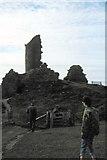 NG4074 : Duntulm Castle - 1983 by Helmut Zozmann