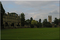 SP5105 : Oxford: view across Christchurch Meadow by Christopher Hilton