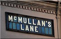 J3573 : McMullan's Lane, Belfast (2) by Albert Bridge