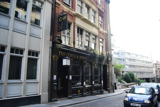 The Coach and Horses, Whitefriar St