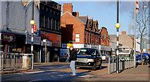 J3573 : Zebra crossing, Belfast (3) by Albert Bridge