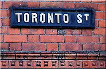 J3573 : Toronto Street, Belfast (2) by Albert Bridge