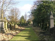 SE1734 : Undercliffe Cemetery - Undercliffe Lane by Betty Longbottom