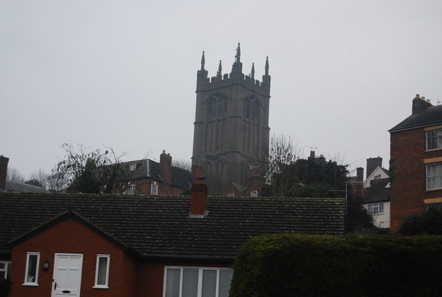 St Laurence's Church Tower by N Chadwick