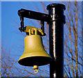 J3473 : Bell, Ormeau Park, Belfast by Albert Bridge