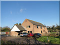 TM3977 : Holton Village Hall, near Halesworth by Adrian S Pye
