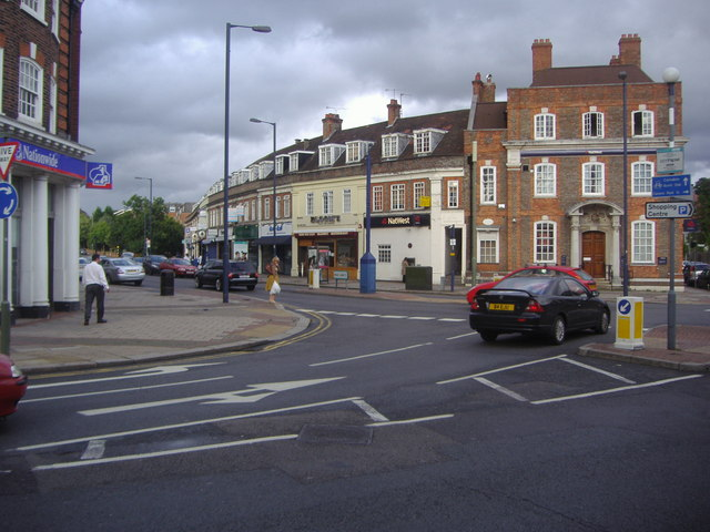 Edgwarebury Lane junction with Station Road, Edgware