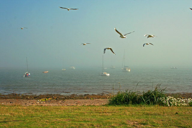 Misty morning on Lindisfarne