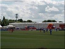 SJ8195 : 20-20 Cricket at Old Trafford by Bill Boaden