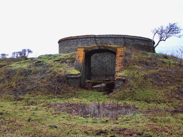 Ruins of the explosives works, near Lower Hope Point (1)
