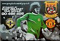 J3775 : George Best mural, Sydenham, Belfast by Albert Bridge