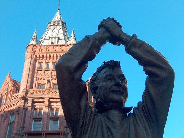 Brian Clough Statue, Nottingham city... © Neil Theasby :: Geograph ...