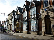 TF0920 : Buildings on North Street, Bourne by Ian S