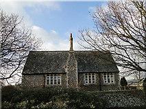 TG0135 : The old school, Gunthorpe by Adrian S Pye