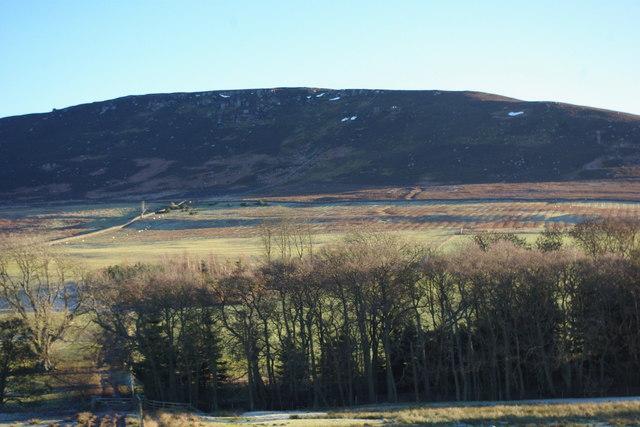 Simonside hills  and Farmland