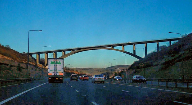 Scammonden Bridge, M62