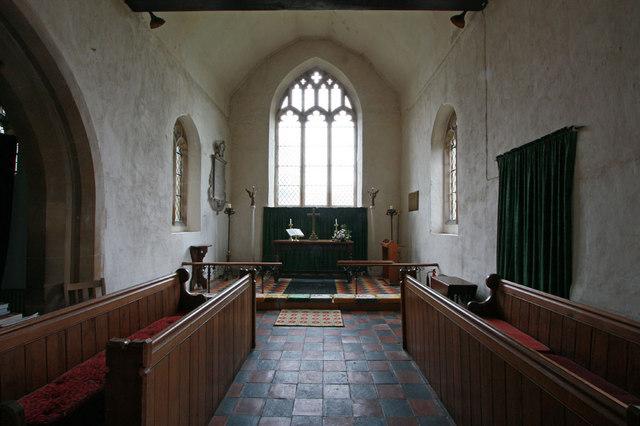 St Swithun, Great Chishill - Chancel